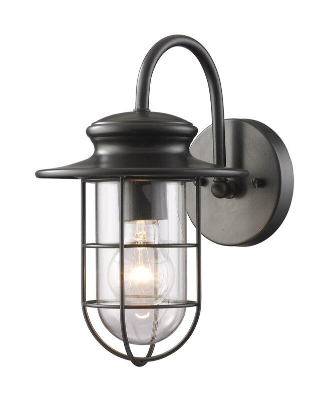 Elk Lighting Portside 1-Light Outdoor Barn Light & Reviews | Wayfair
