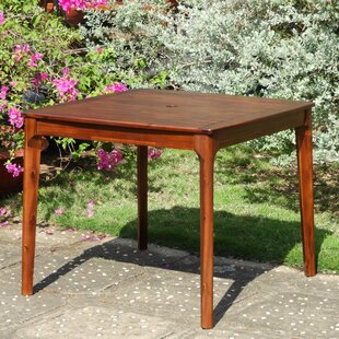 Bridgehampton Square Patio Wooden Dining Table