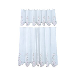 Virgile Kitchen Curtain Set