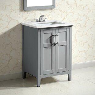 Winston 24 Single Bathroom Vanity Set By Simpli Home