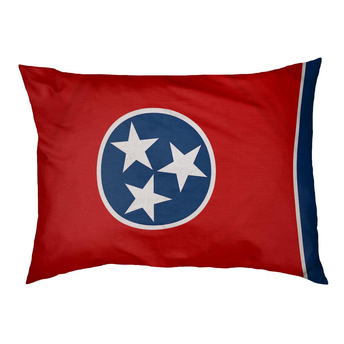 Tucker Murphy Pet Burien Tennessee Flag Dog Pillow Wayfair