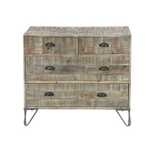 Alsey Rustic Teak and 4 Drawer Accent Chest by Foundry Select SKU:DA983648 Check Price