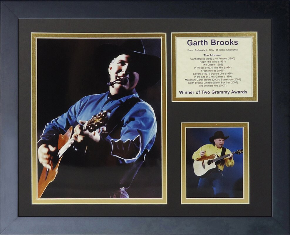 7f046037a9d Legends Never Die Garth Brooks Framed Memorabilia   Reviews