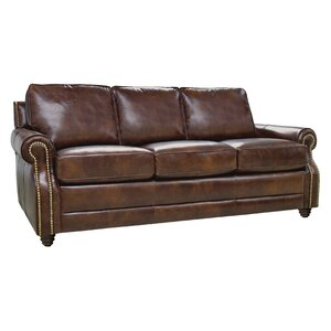Levi Leather Sofa by Luke Leather