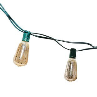 Festival Depot 12 ft. 10-Light Globe String Lights
