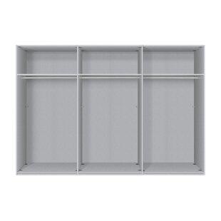 Kierra Bianco 3 Door Wardrobe By Metro Lane