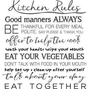 Wall Stevens Quotes Kitchen Wayfair
