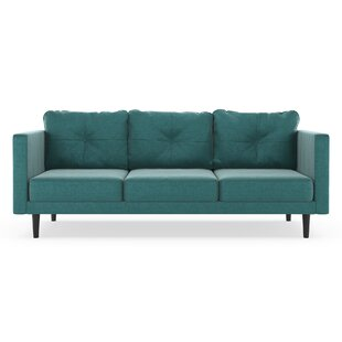 Cozad Mod Velvet Sofa