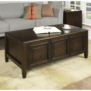 Three Posts Gorlest Coffee Table with Storage