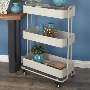 Rambo Metal Bar Cart by Wrought Studio