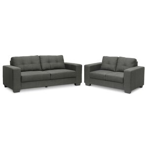 Baxton Studio 2 Piece Living Room Set by Wholesale Interiors