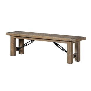 Ovalle Wood Bench by Williston Forge