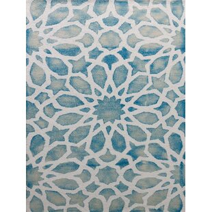 Affordable Julio Marine White Area Rug By Bungalow Rose
