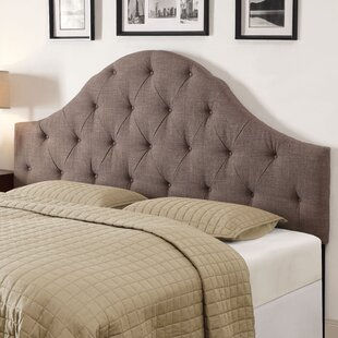 King Upholstered Panel Headboard by PRI