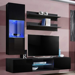 Levasseur Floating Entertainment Center For TVs Up To 70
