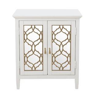Check Prices Adali Mirror Front 2 Door Accent Cabinet ByRosdorf Park