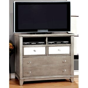 Rogers 4 Drawer Media Chest by Willa Arlo Interiors