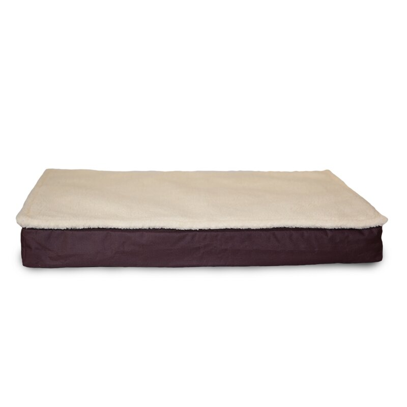 Archie & Oscar Etta Deluxe Outdoor Memory Foam Dog Bed with Removable Cover