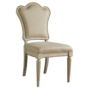 Daniella Upholstered Back Side Chair (Set of 2) Lark Manor