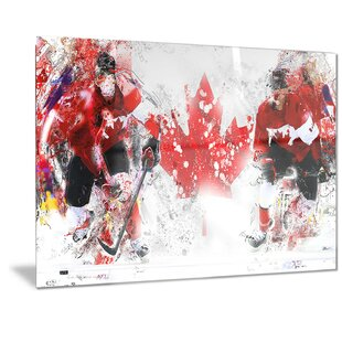 'Hockey in Canada' Graphic Art by Design Art