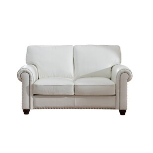 Tawanda Craft Leather Loveseat