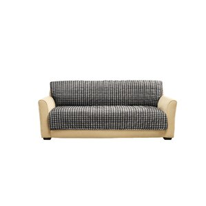 Sure Fit Box Cushion Armless Sofa Slipcover Image