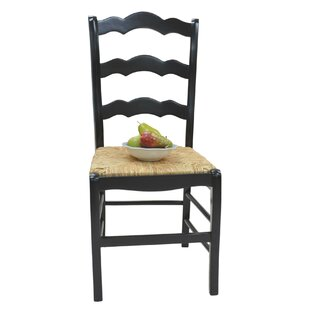 Vienna Ladder Back Solid Wood Dining Chair Carolina Cottage