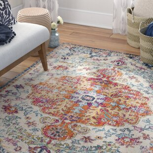 Read Reviews Hillsby Saffron Area Rug by Mistana