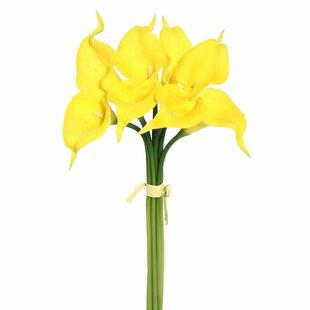 Yellow faux flowers joss main save mightylinksfo