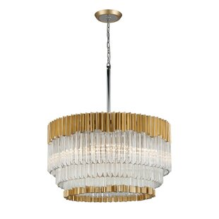 Charisma 8-Light Crystal Chandelier by Corbett Lighting