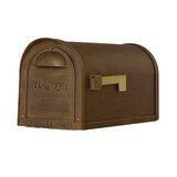 Baldwin Post Mounted Mailbox