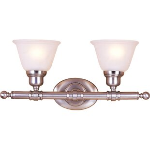 Harshaw 2-Light Vanity Light by Alcott Hill