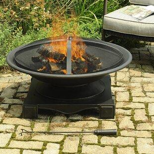 Sunjoy Grimaldi Steel Fire Pit
