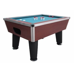 Top The Brickell Professional 4.7' Bumper Pool Table ByBerner Billiards
