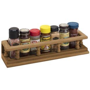 6 Jar Spice Rack