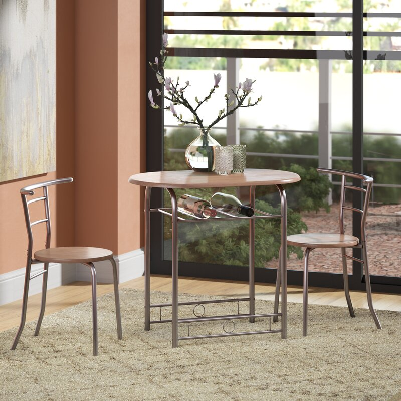 Incroyable Shingadia Bistro 3 Piece Breakfast Nook Dining Set