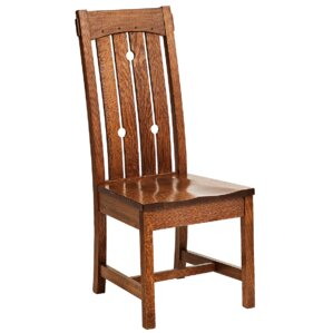 MacArthur Solid Wood Dining Chair by Conr..