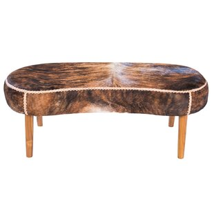 Harley Leather Bench by Joseph Allen
