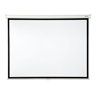 Matte White 100 diagonal Manual Projection Screen by Loch