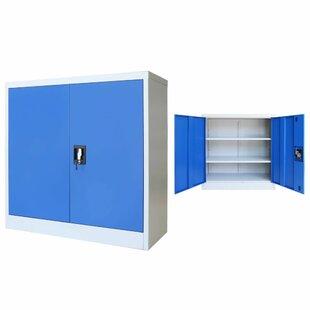 Brungardt 2 Door Storage Cabinet By Rebrilliant