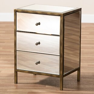 Hurley 3 Drawer Nightstand by Mercer41