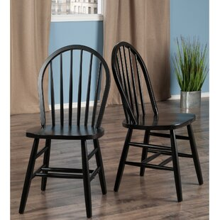 Sledmere Solid Wood Dining Chair Winston Porter