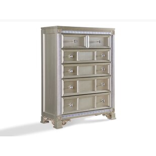 House of Hampton Chumbley 6 Drawer Chest Image