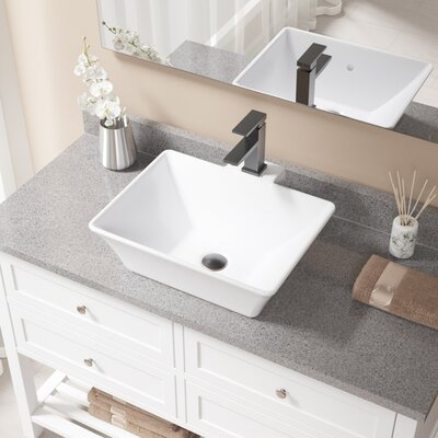 Find The Perfect Bathroom Sinks Amp Faucet Combos Wayfair