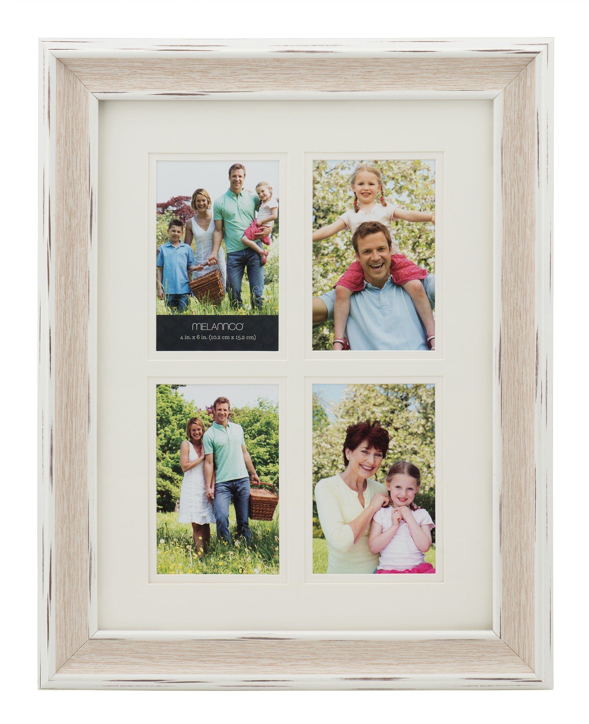 Melannco 4-Opening Collage Picture Frame | Wayfair