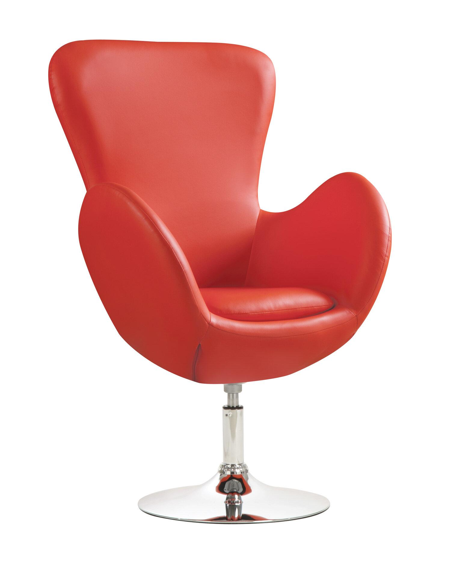 Wildon Home ® Swivel Lounge Chair U0026 Reviews | Wayfair