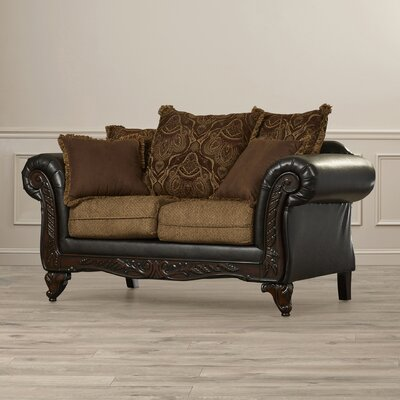 Brown Faux Leather Loveseats You Ll Love In 2019 Wayfair