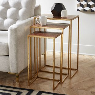 Mercury Row Kull 3 Piece Nesting Tables