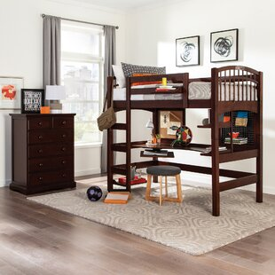 Reviews Sandisfield Twin Loft Bed by Zoomie Kids Reviews (2019) & Buyer's Guide