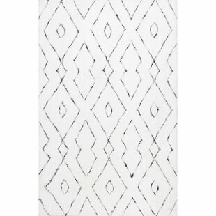 Peraza Hand Tufted White Area Rug